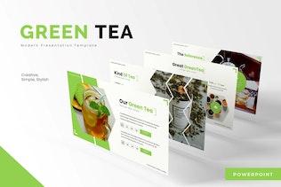 Green Tea - Powerpoint Template