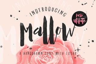 Mallow Typeface & EXTRA Mockup