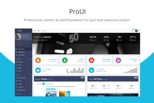 ProUI - Bootstrap Admin Template