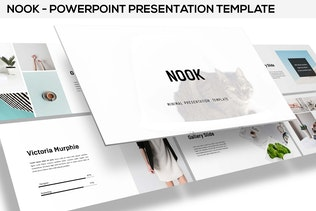 Nook - Minimal Powerpoint Template