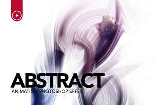 Abstract Animation Photoshop Action