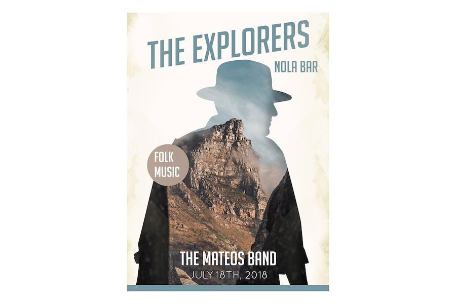 Explorers Flyer Poster