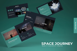 Space Journey - Powerpoint Template