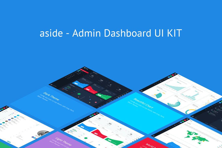 aside - Admin Dashboard UI KIT