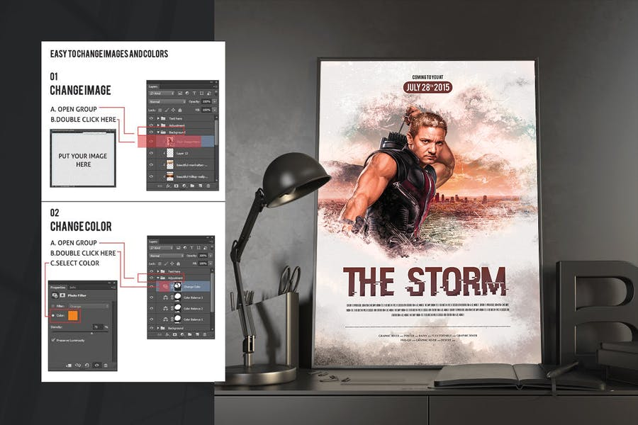 The Storm Movie Poster/Flyer