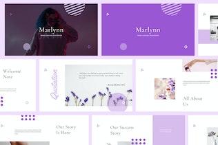 Marlynn - Branding Guidelines Powerpoint