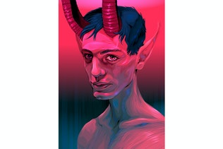 Portrait of a Devil Boy