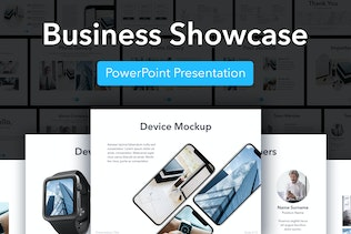 Business Showcase PowerPoint Template