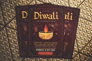 Diwali Celebration Flyer