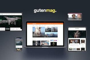 Gutenmag - Gutenberg WordPress Theme