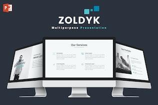 Zoldyk - Powerpoint Template