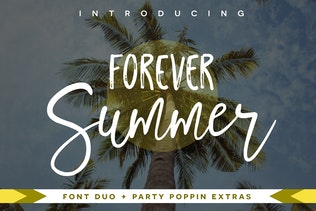 Forever Summer Font Duo