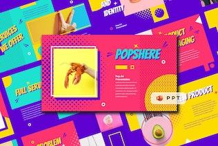 POPSPHERE - Pop Art Powerpoint Template