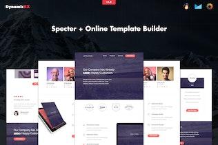Specter - Responsive Agency Email + Online Builder