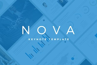 Nova Business Keynote Template Pitch Deck