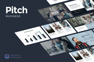 Business Pitch - Keynote Template