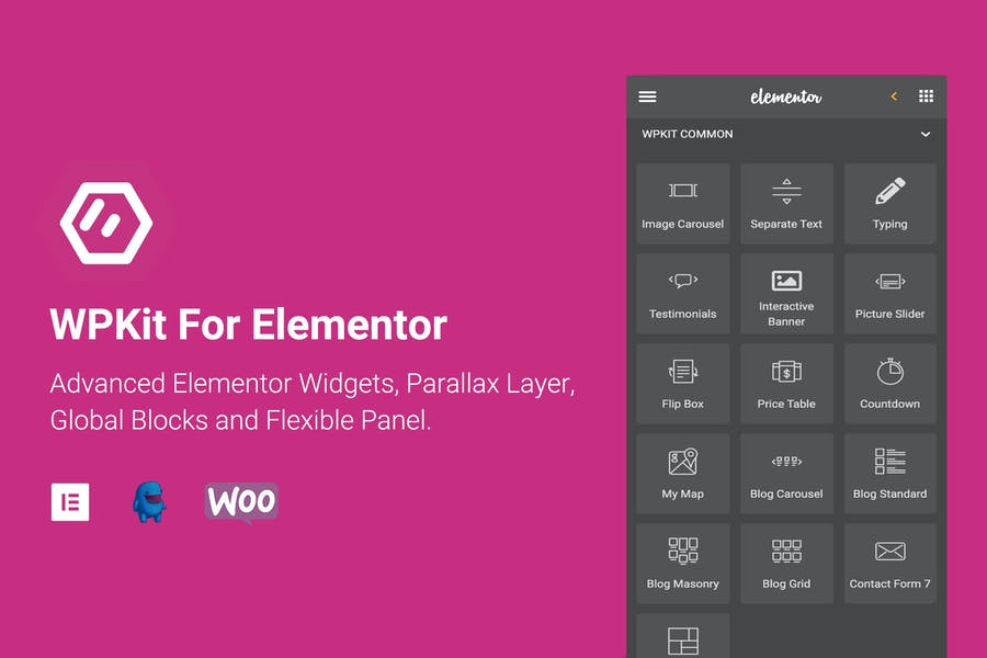 WPKit For Elementor - Advanced Widgets & Addon