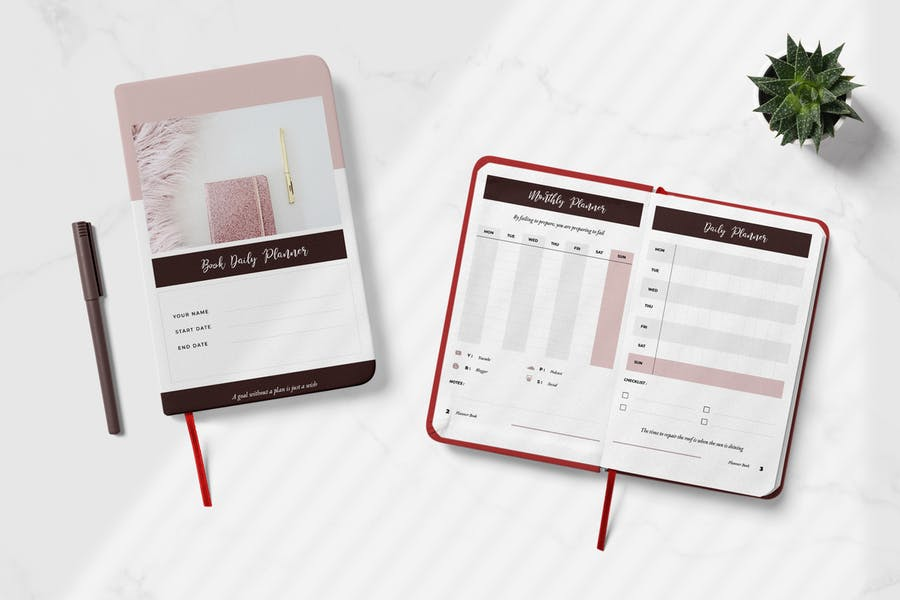 Daily Creator Planner Book Vol.01