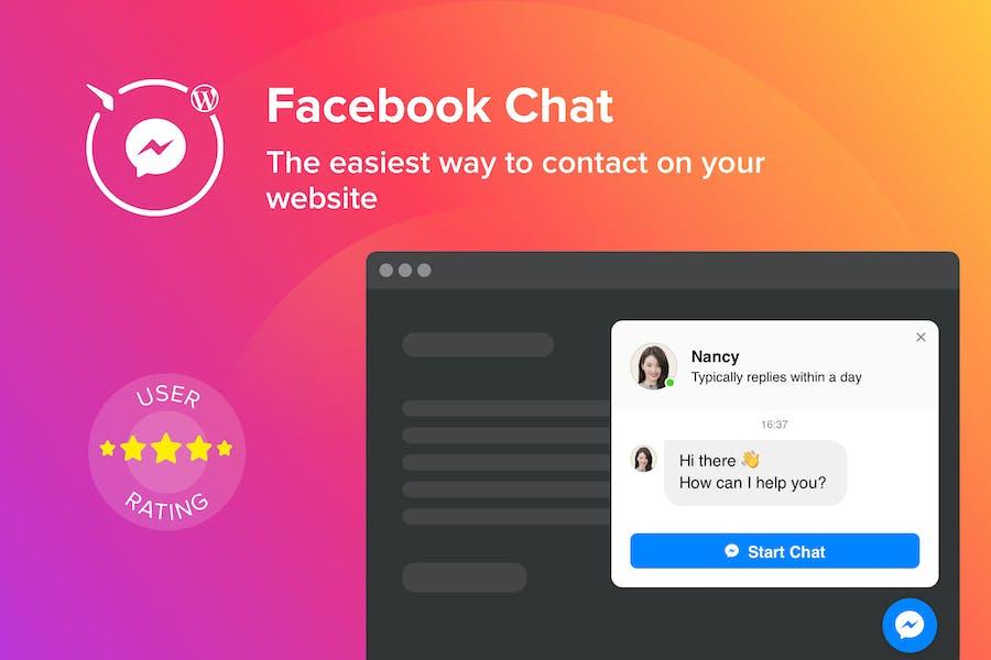 WordPress Facebook Chat Plugin