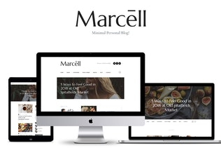 Marcell - Personal Blog & Magazine WordPress Theme