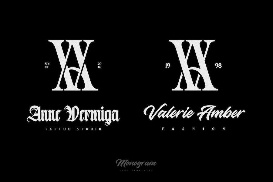 AV/VA Monogram Logo