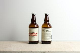Beer Bottle Mock-up / Real Photo Scene