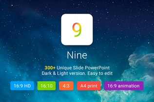 Nine - Multipurpose PowerPoint Template