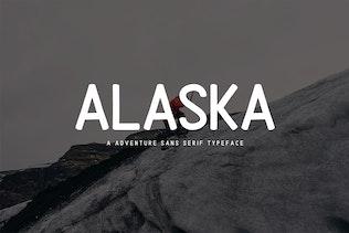 Alaska | Adventure Sans Serif Type