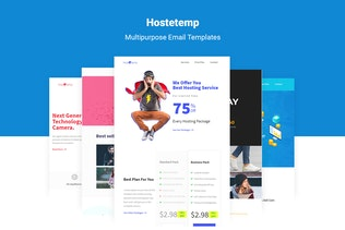 Hostetemp - Multipurpose Email Templates & Builder