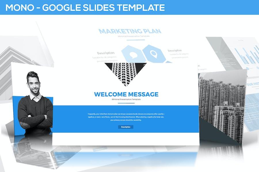 Mono Google Slides Template