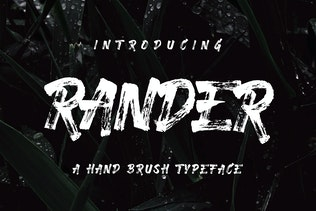 Rander Font