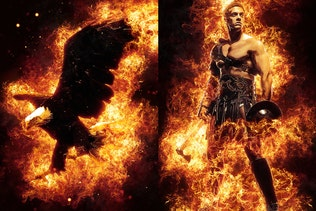 Flames Photoshop Action