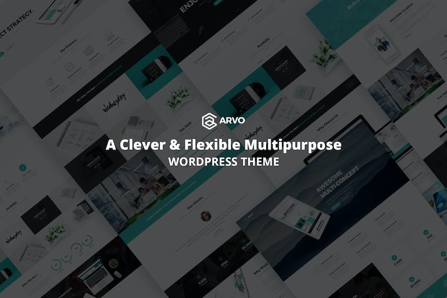 Arvo - A Clever & Flexible Multipurpose WordPress