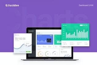 DashBee - CMS Dashboard UI Kit