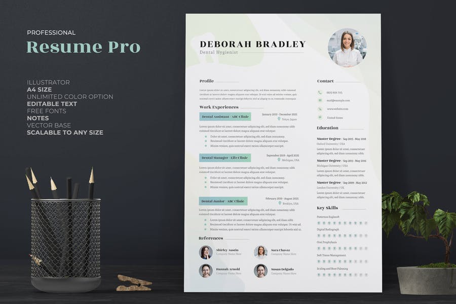 Dental Resume / CV