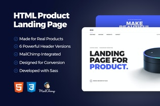 Eco - HTML Product Landing Page