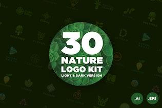 30 Nature Logo Kit