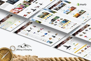 Hiking & Camping- Outdoor, Adventure Shopify Theme