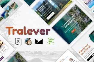 Tralever - Book & Travel Responsive Email