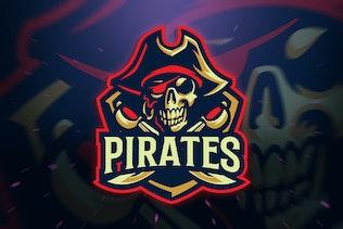 Pirates Sport/Esport Logo