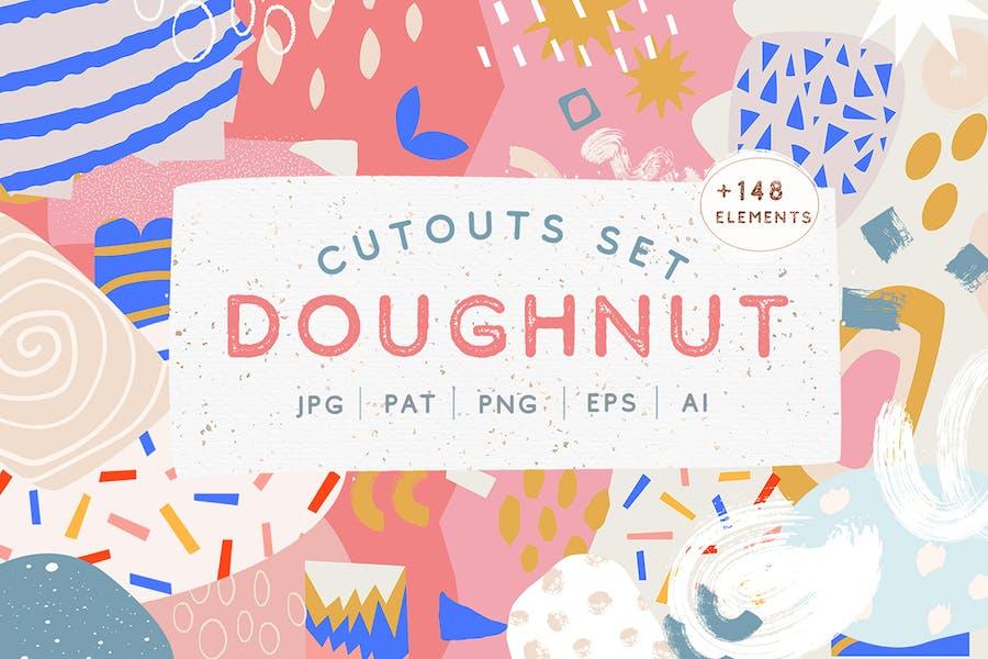 Cover for Doughnut Cutouts Set