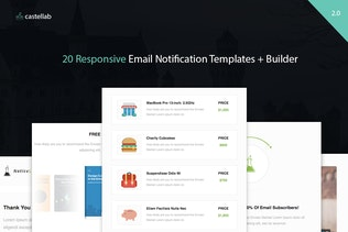 NoticeLab - Email Notification Templates + Builder