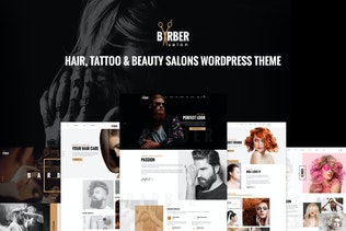 Barber - Hair, Tattoo & Beauty Salons WP Theme