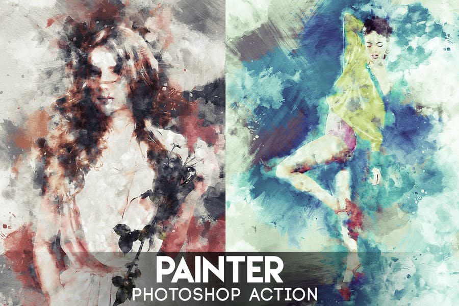 Cover for Painter Photoshop Action