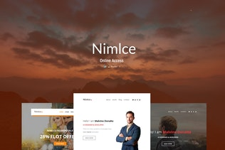 Nimlce - Responsive E-mail Templates set