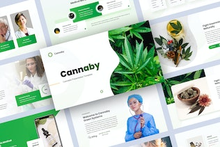 Cannaby - Cannabis Presentation Templates