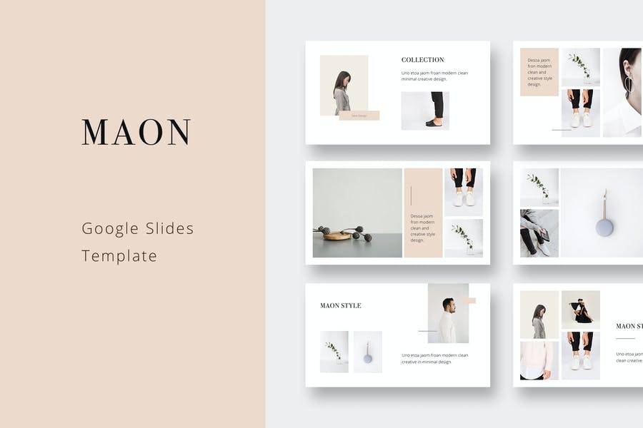 MAON - Google Slides Template
