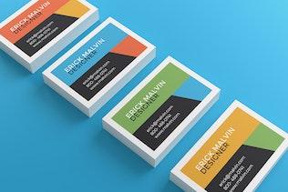 UK Business Cards Mock-up's [85×55 mm]