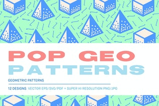 Pop 3D Geo Patterns