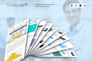 Corporate B2B Newsletter Template